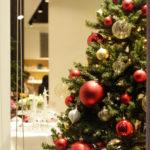 続・クリスマスコーディネートにピッタリのテーブルクロスです!