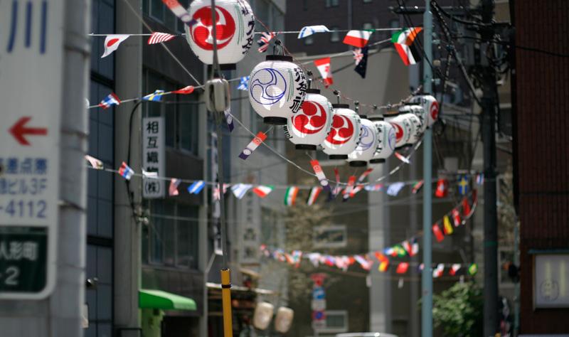 今日から人形町の氏神さまの例大祭が行なわれます。