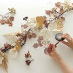 秋のワークショップ『フロスティゴールド・ガーランド』in日本橋人形町を開催します!