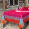 フランスから『ル・ジャカールフランセ』の素敵なテーブルクロスが入荷しました!