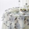 ウェディングドレスのようなテーブルクロス、『木蓮』出来上がりました