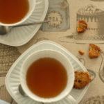 紅茶好きのためのファブリック『ティータイム』出来上がりました